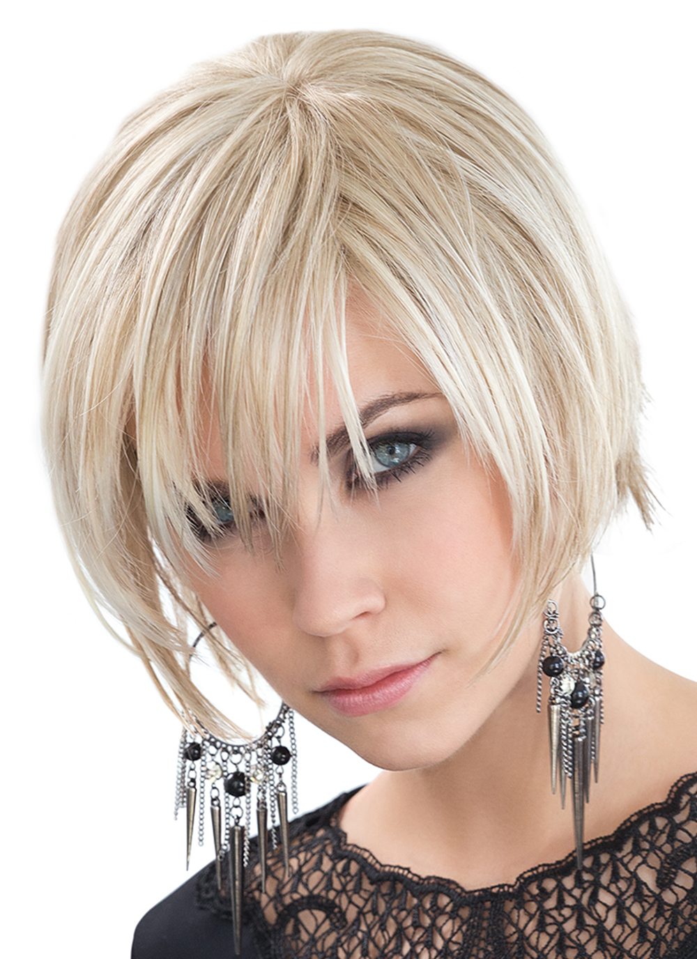 Echo WIg by Ellen Wille | Trendy Short Hair Wig | Colour Light Champagne Mix