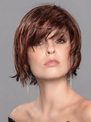 The Echo has a left hand tied monofilament parting, creating the illusion that the parting is coming from your own scalp.