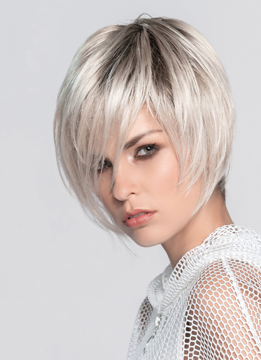 Java   The hand-knotted lace front gives an amazingly natural look for the off the face styling versatility.