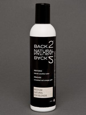 Back2Natural Medium Natural Ash Brown Conditioner | Human Hair Wig Color Restoration