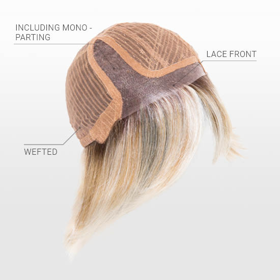 Hand Tied Mono Parting | Lace Front Cap