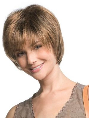 Nova Wig By Ellen Wille | Hair Power Collection | Ellen Wille Wigs | Feminine Short Hair Synthetic Wigs | Colour Mocca Mix | Elly-K.com.au