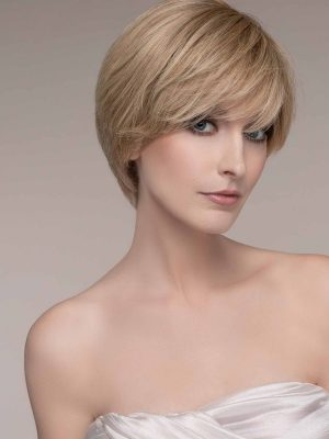 The Award wig by Ellen Wille is a beautifully shaped elegant short style wig. It is made with 100% Fine Remy Human Hair, the best quality human hair used for real hair wigs.