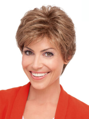 Crystal Deluxe Wig by Ellen Wille | Lace Front | Colour Mocca Mix | Luxury Wigs | Elly-K.com.au