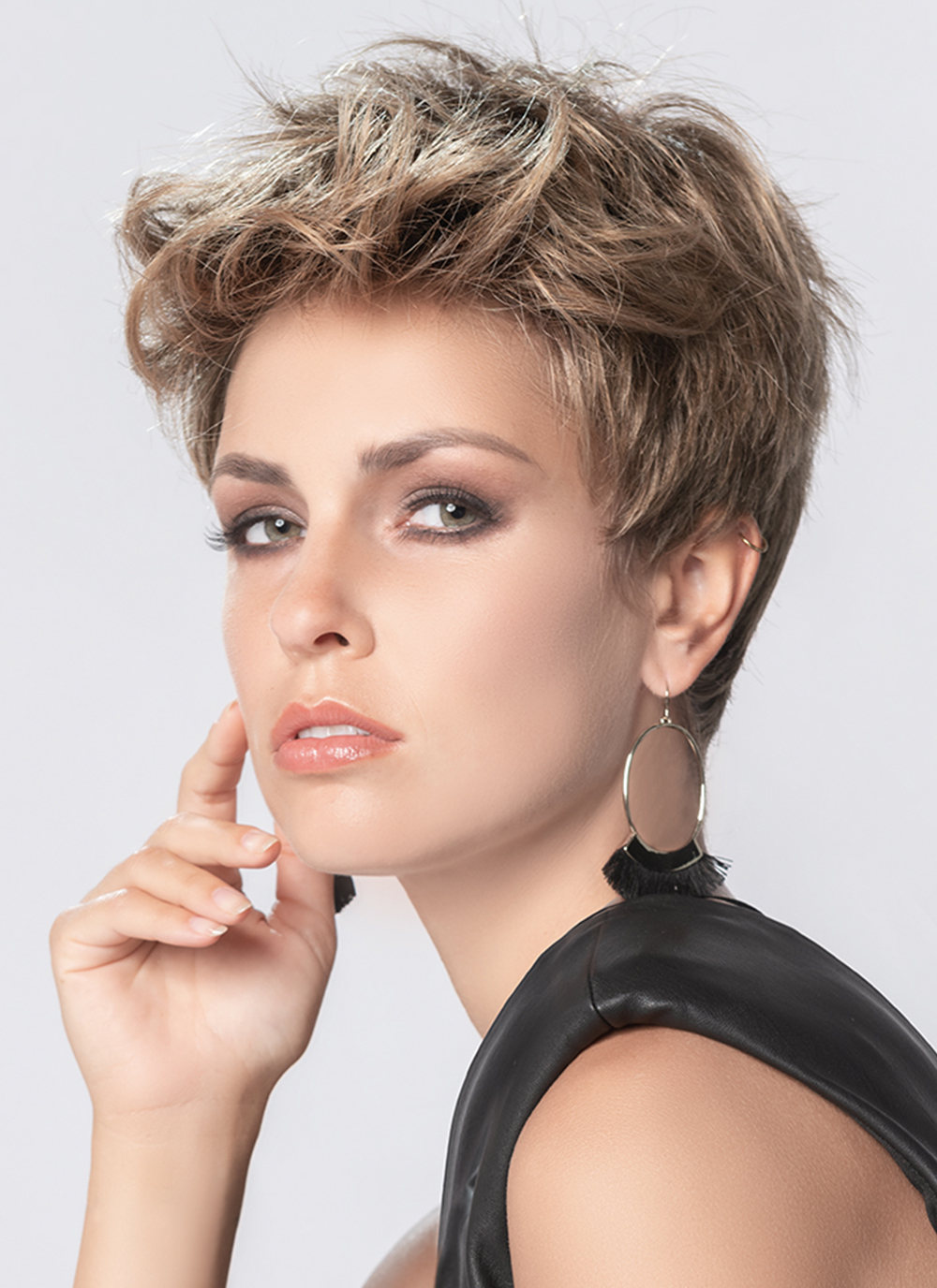 Stay Wig by Ellen Wille   Short Cut Wig with Lace Front
