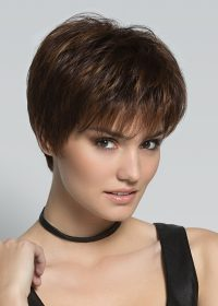 Scape by Ellen Wille | Mocca Rooted | Medium Brown, Light Brown, and Light Auburn Blend with Dark Roots