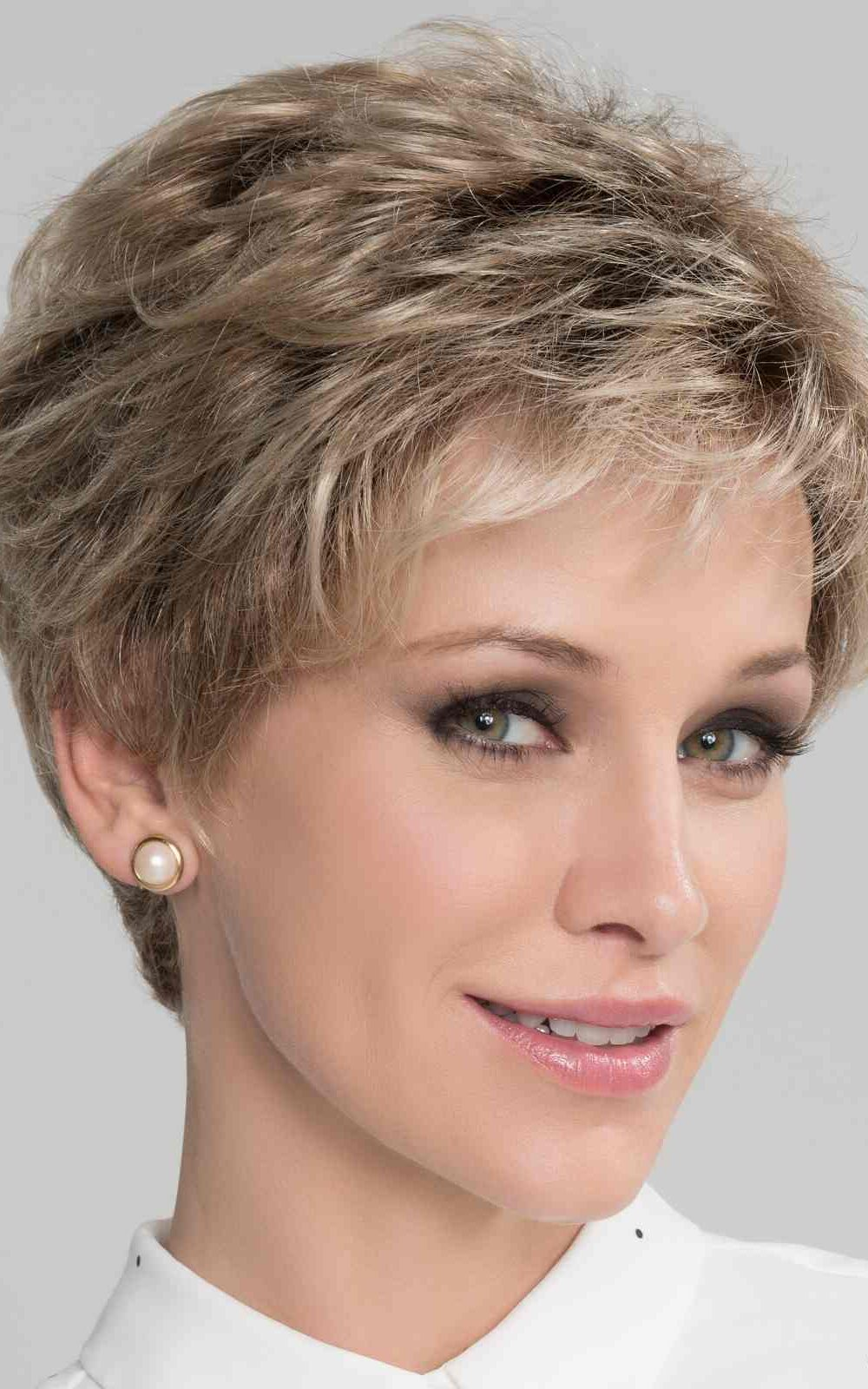 Alba Comfort Wig | Champagne Rooted | 100% Hand Tied - Lace front | Elly-K.com.au