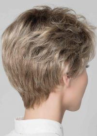 Alba Comfort wig | Beautiful nape | The natural looking fibre hair can be styled using wig fibre products or just finger teased | Elly-K.com.au
