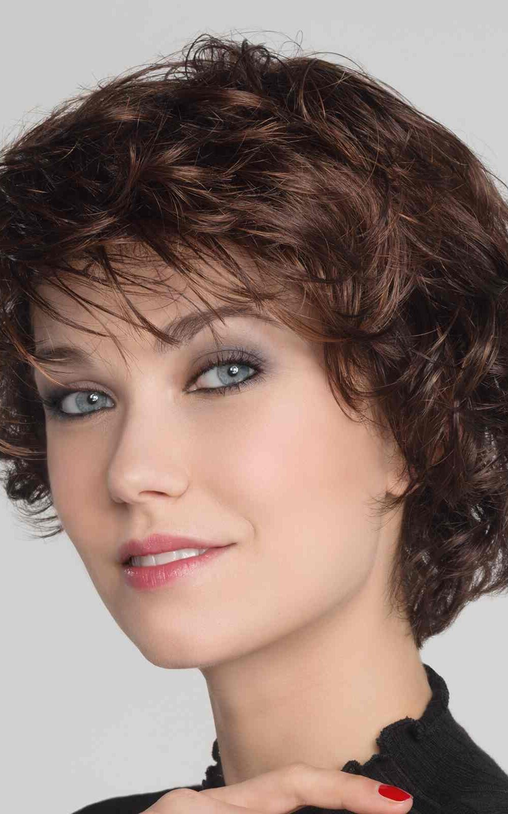 Alexis Deluxe | Monofilament Crown to create the impression of a natural scalp area | Elly-K.com.au