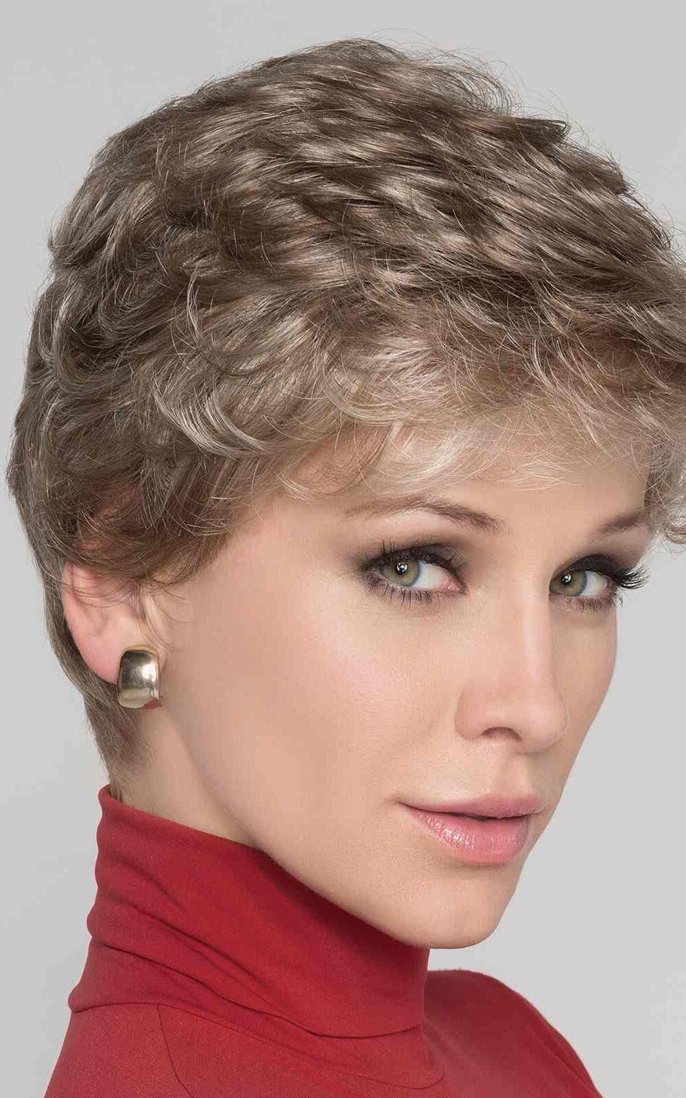 Apart Hi   Synthetic Lace Front Wig (Wefted Cap) by Ellen Wille   Sandy Blonde Mix   Elly-K.com.au