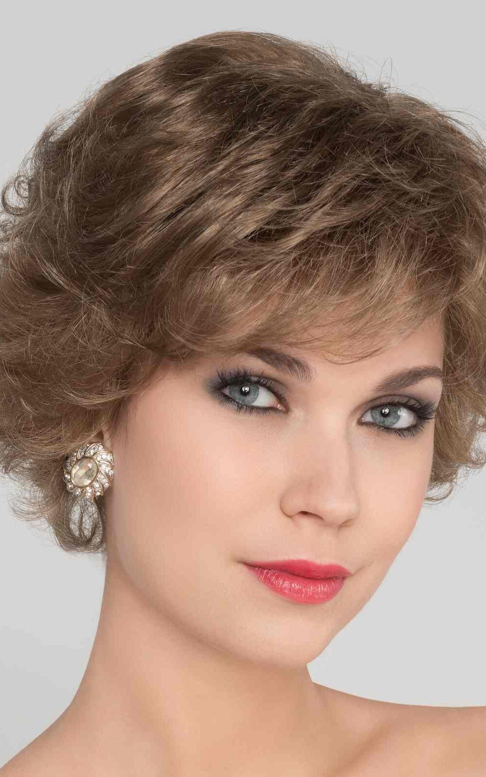 Aurora Comfort   Synthetic Lace Front Wig (100% Hand-Tied) by Ellen Wille   Dark Sand Mix   Elly-K.com.au