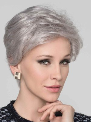 Cara Deluxe | Synthetic Lace Front Wig (Hand-Tied) by Ellen Wille | Silver Mix | Elly-K.com.au