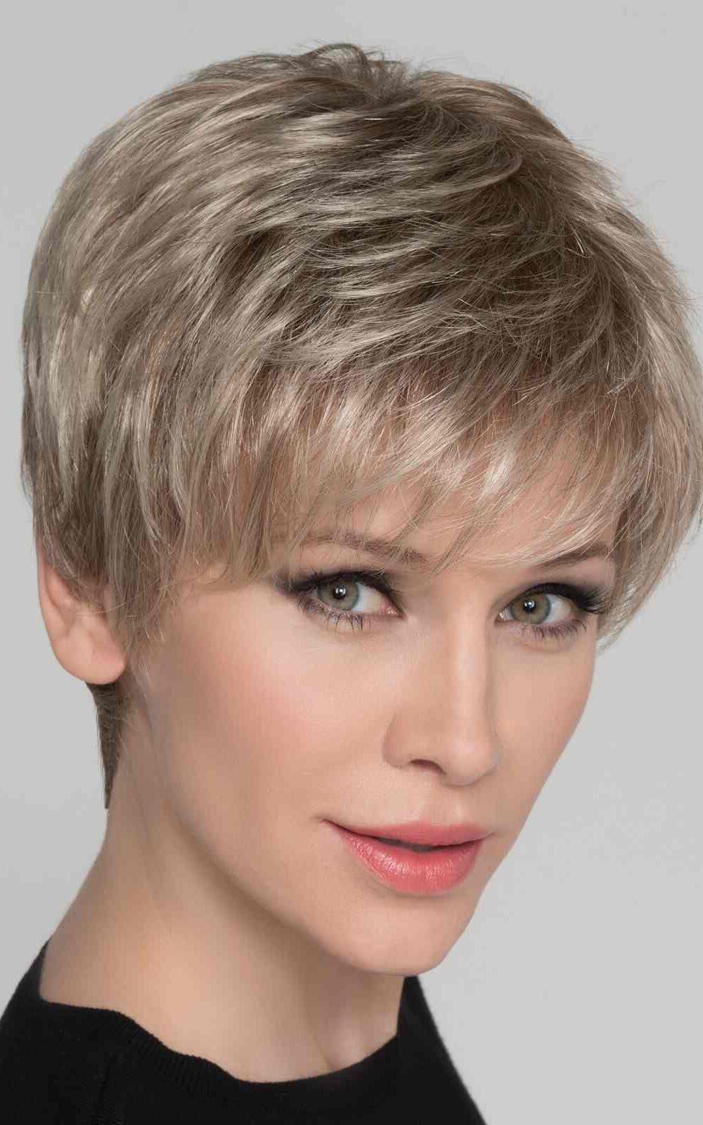 Carol | Synthetic Lace Front Wig (Mono Crown) by Ellen Wille | Sandy Blonde Mix | Elly-K.com.au
