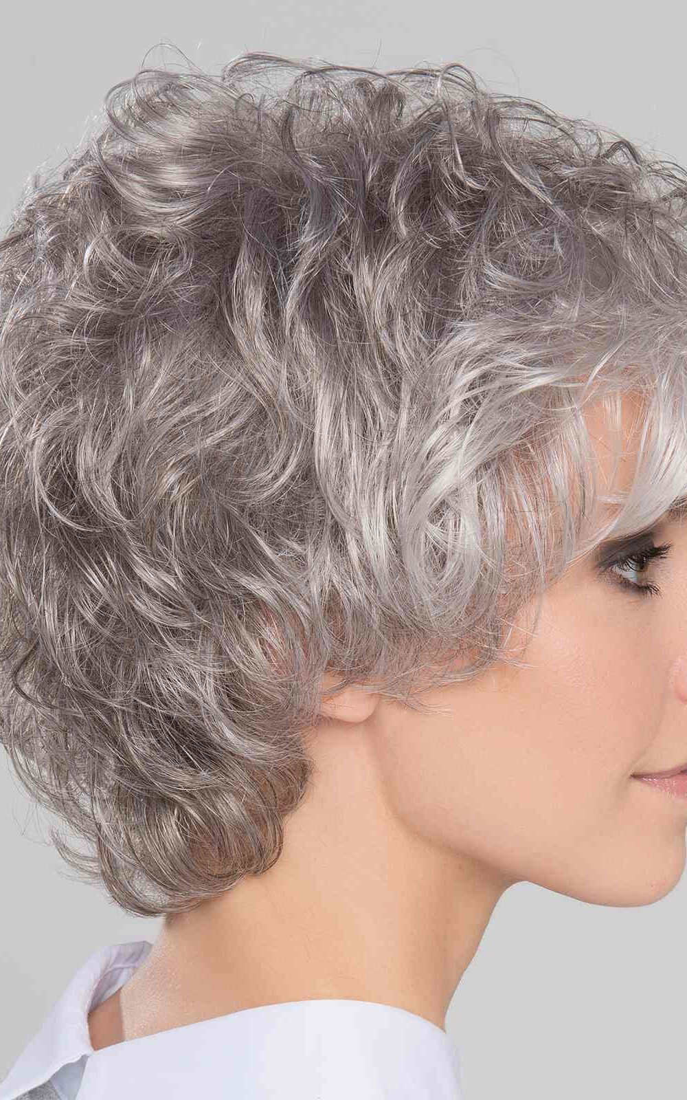 City Large   Synthetic Lace Front Wig (Wefted Cap) by Ellen Wille   Snow Mix   Elly-K.com.au
