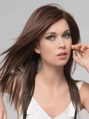 BEST SELLER | Code Mono by Ellen Wille is a long, layered, and super straight synthetic wig