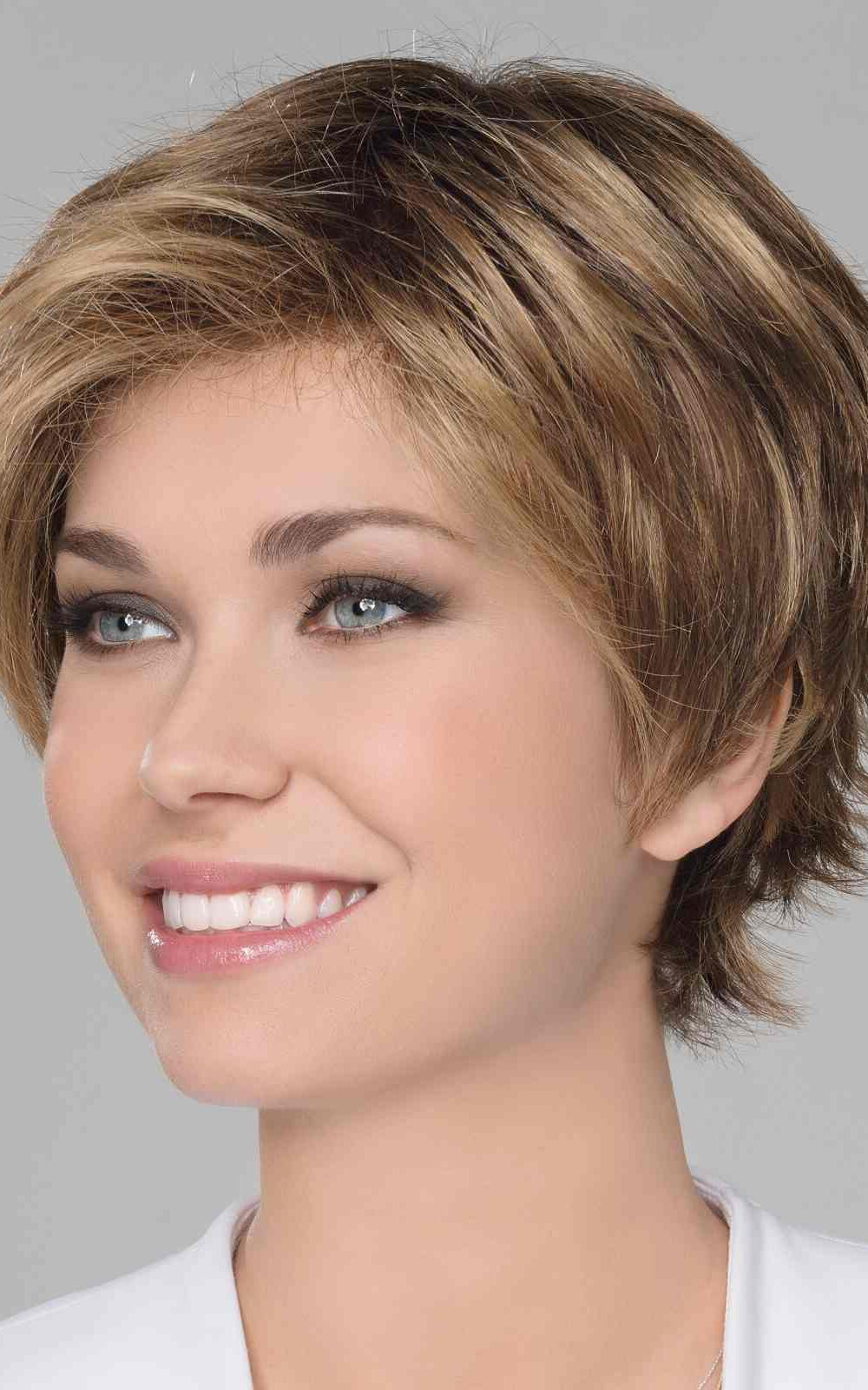 Flip Mono by Ellen Wille   Short Lace Front Synthetic Wig   Colour Pearl Blonde Rooted   Elly-K.com.au