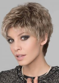 You'll love how the lace front adds a completely realistic touch, allowing you to style hair away from your face