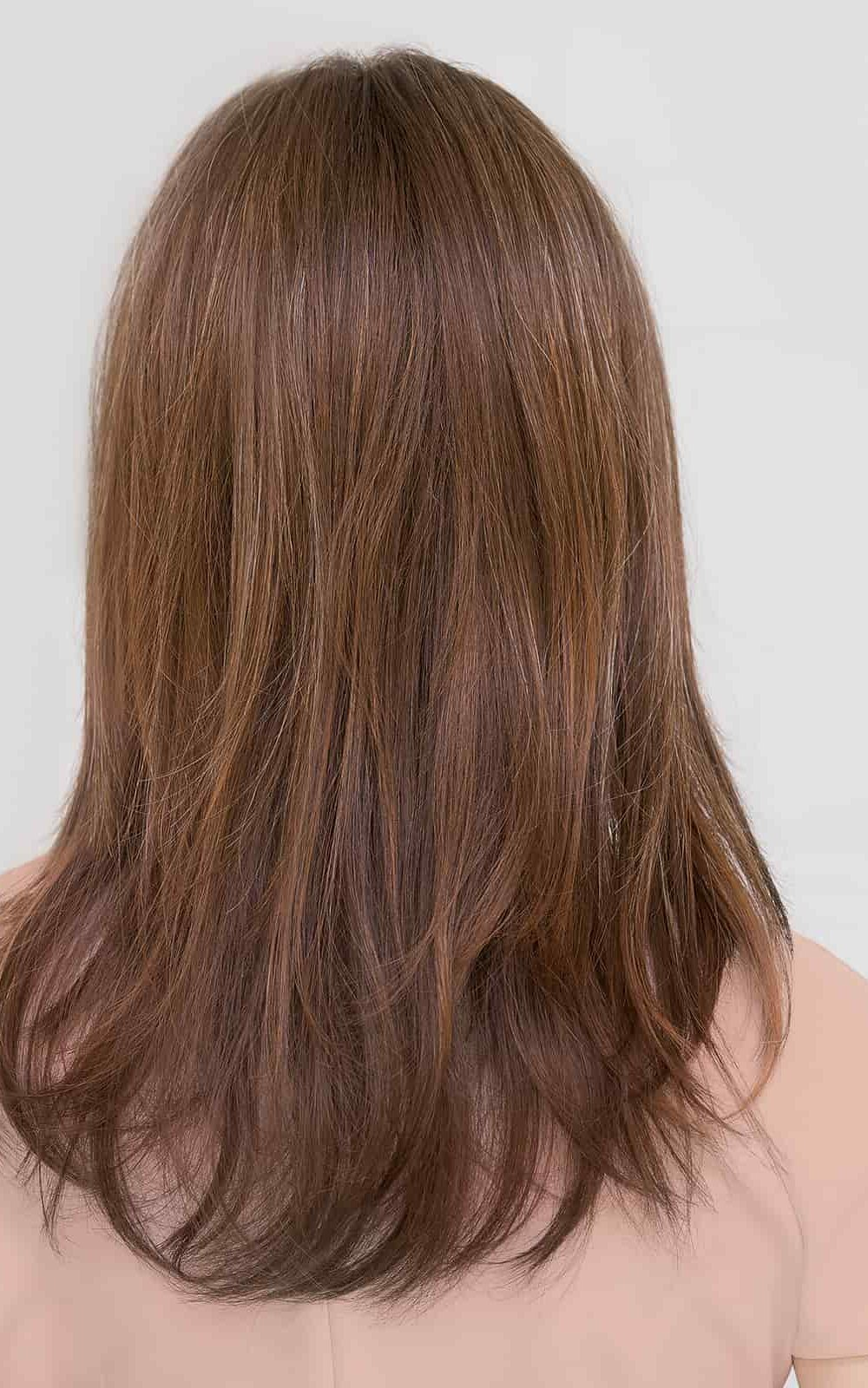 Specially selected materials, which are breathable and soft to ensure maximum comfort at all times. She is lightweight and perfect for those with a sensitive scalp
