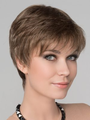 IZA SMALL DELUXE WIG - Dark Sand mix | Light Brown base with Lighest Ash Brown and Medium Honey Blonde blend