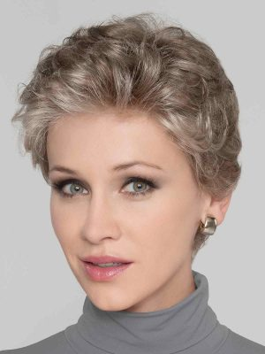 LUCIA by Ellen Wille in Pearl Rooted | A Medium Pearl Grey with a Pearl Brown overtone. Darker roots for a natural look