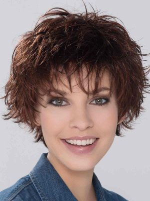 Push Up by Ellen Wille | Chocolate Mix | Medium to Dark Brown base with Light Reddish Brown highlights | Elly-K.com.au