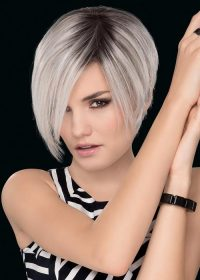 AMAZE by Ellen Wille in SILVER BLONDE ROOTED | Pure Silver White and Pearl Platinum Blonde Blend