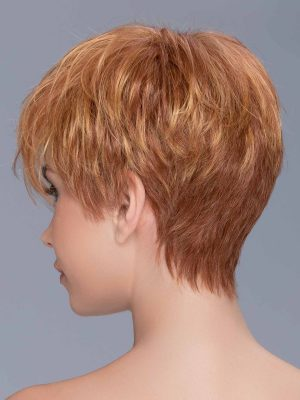 HOT by Ellen Wille | It has a beautiful tapered neckline. The synthetic fiber is the highest quality available and imitates natural hair with the right density and a healthy shine