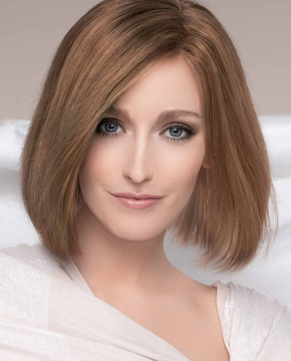PRESTIGE   MOCCA ROOTED   Medium Brown, Light Brown, and Light Auburn Blend with Dark Roots