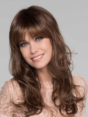 Pretty Wig By Ellen Wille | Long Flattering Wig | Colour Chocolate Rooted | Elly-K