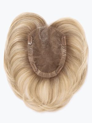 Real By Ellen Wille | Topper | Blend of pure human hair enhanced with fine premium heat resistant synthetic hair fiber.