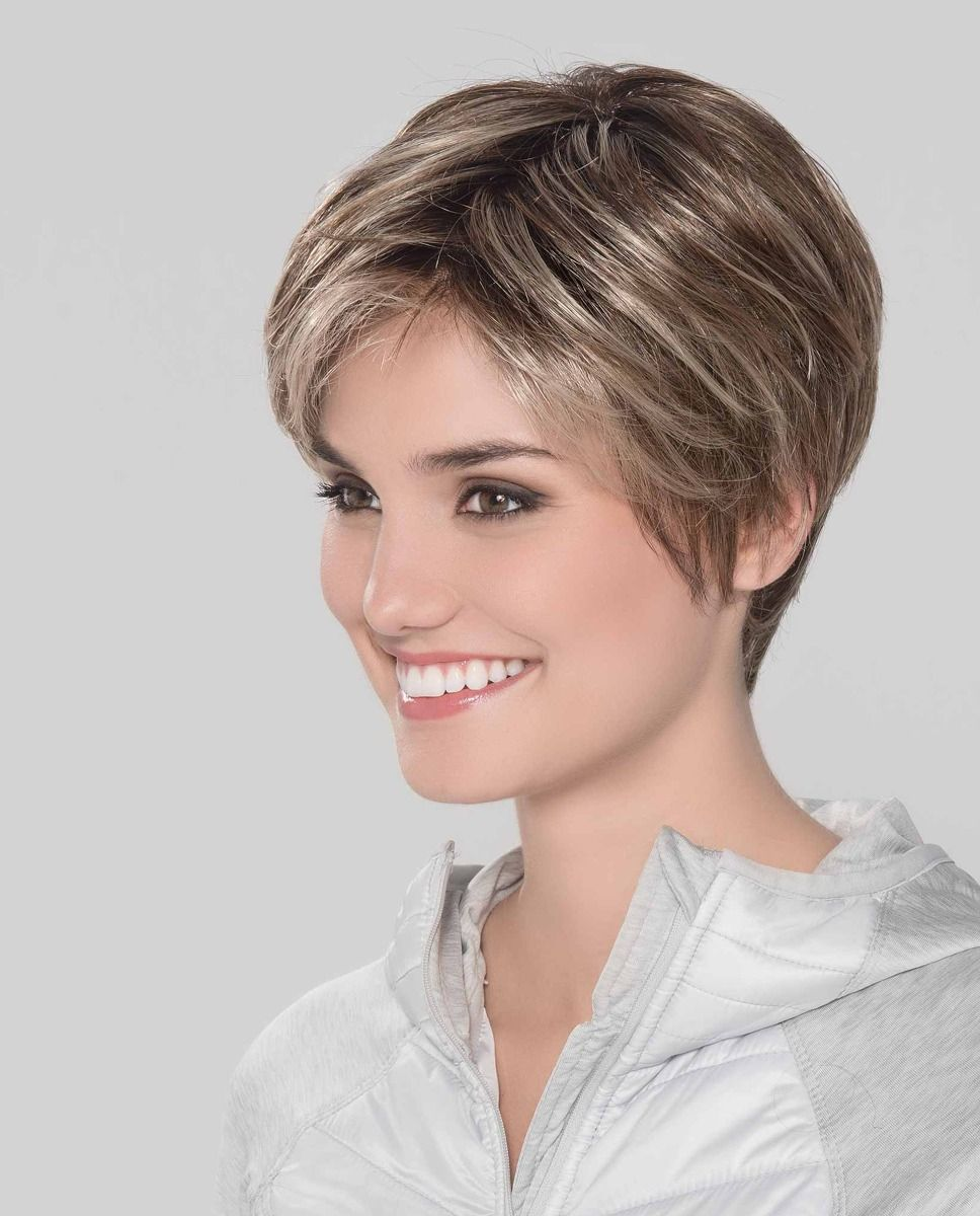 Smart Mono   The lace front adds a natural looking hair part and allows for the hair to be styled off the face.