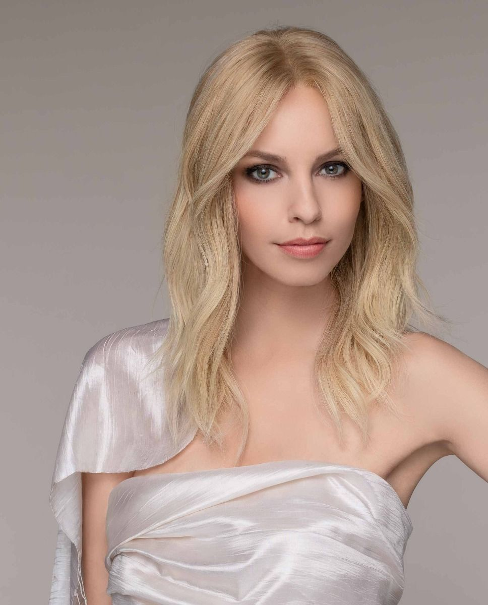 SPECTRA By ELLEN WILLE |  A lengthy human hair wig with ample body, this gorgeous look spirals far past the shoulders.