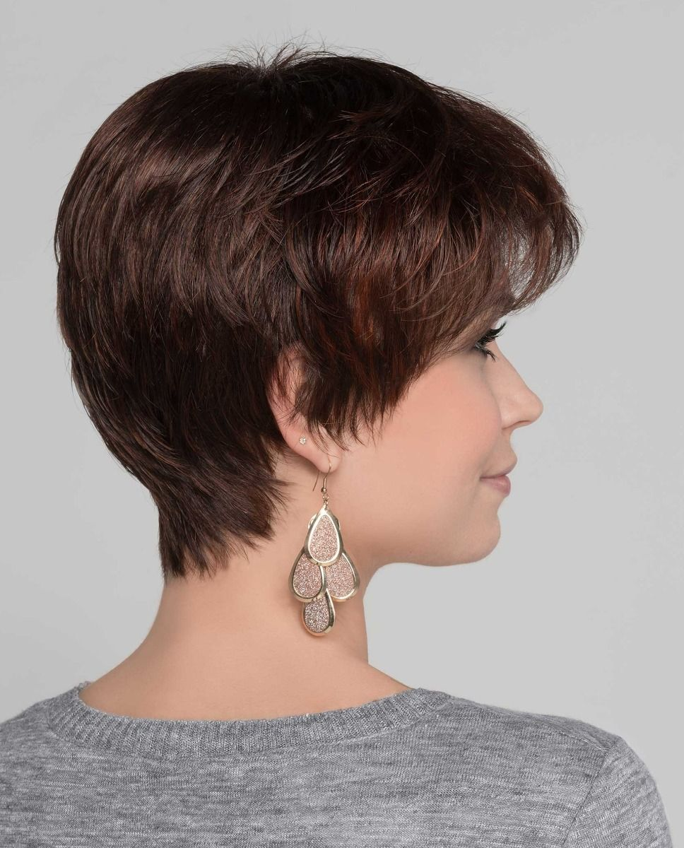 Zizi | It features a monofilament crown which gives a natural hairline.