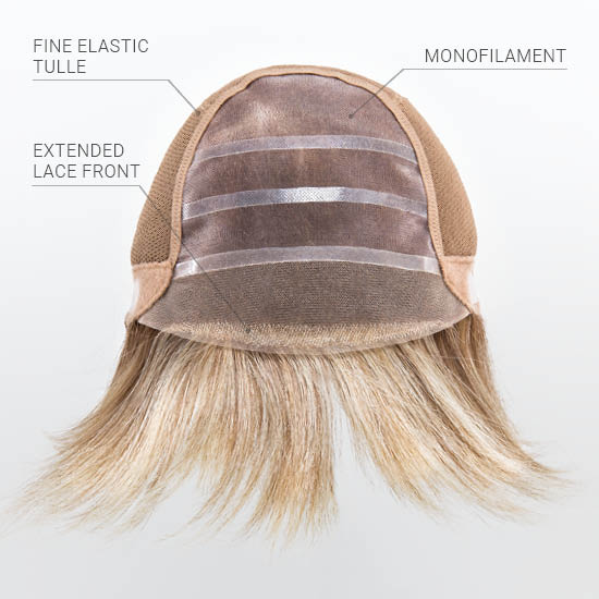 Extended Lace Front | Monofilament Top |  100% Hand Made Cap. The finest in hand-crafted luxury!
