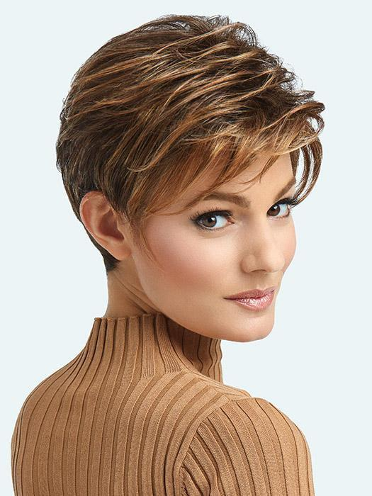 Boston Mono By Raquel Welch is a pixie style wig, which is incredibly light to wear at 69 grams