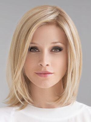 CATCH by ELLEN WILLE in CHAMPAGNE ROOTED | Med Beige Blonde, Medium Gold Blonde, and Lightest Blonde blend with Darker Roots