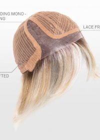 Lace Front   Mono Parting   Wefted Cap