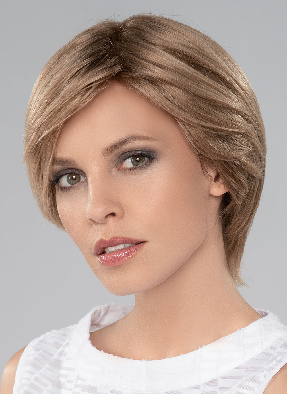 The Dia has lots of styling options with a stylish longer neck, the extra double layered soft mono top part, and a beautiful lace front hairline for a seamless natural look.