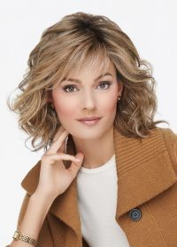California Mono Part by Raquel Welch | The lightweight cap has a hand-tied monofilament part and a lace front for a realistic appearance and versatility of styling options