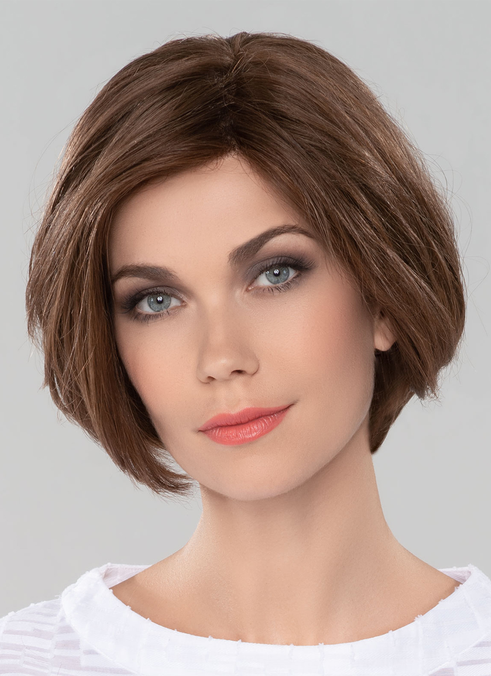 COSMO by ELLEN WILLE in CHOCOLATE MIX   Medium to Dark Base with Light Reddish Brown Highlights