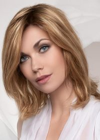 The Juvia by Ellen Wille in Bernstein Mix is a shoulder-length made with 100% European Remy Human Hair