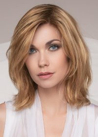 Juvia | A beautiful lace front and hand-tied mono top take this wig to the next level with the added comfort and sleek, realistic appearance
