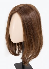FAMOUS BY ELLEN WILLE | The lace front allows the hair to be styled away from the face and gives the hairline a real and natural look