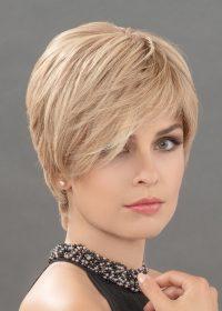HANNAH by ELLEN WILLE in CHAMPAGNE MIX | Light Beige Blonde, Medium Honey Blonde, and Platinum Blonde blend