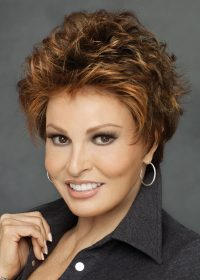 MALIBU BY RAQUEL WELCH   Features a lace front for a natural hairline and to allow for styling away from the face