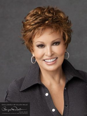 MALIBU BY RAQUEL WELCH | Short cut style with softly curled layers | Colour Chocolate mix