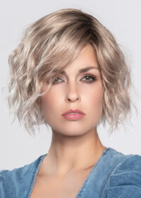 DANCE by ELLEN WILLE in CANDY BLONDE TIPPED 101.27.60 | Pearl platinum blonde mixed with light reddish brown and pure white
