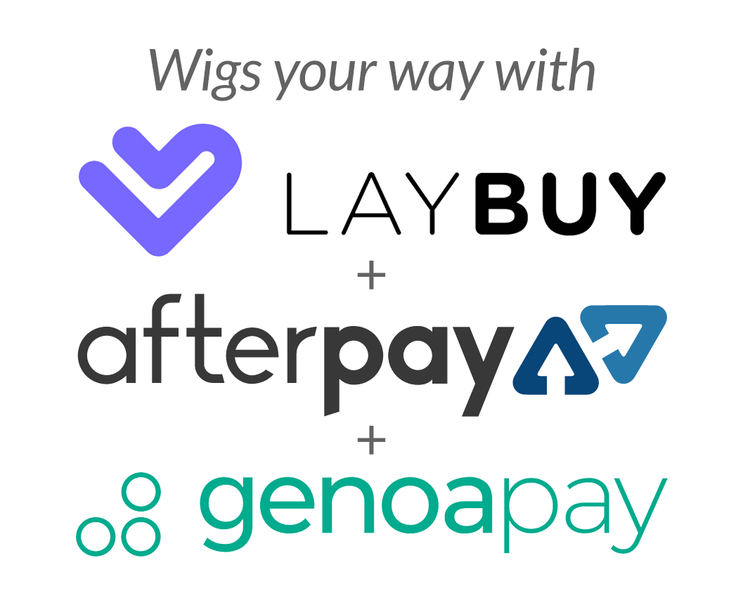 Wigs your way - Pay with Laybuy, Afterpay or Genoapay
