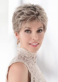 The Spa has an impeccable ear to ear extended lace front that offers styling versatility